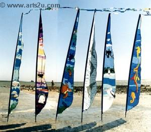 Shark Bay Feather Banners
